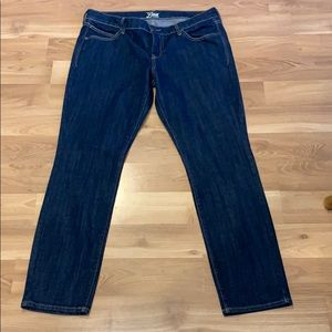 "Old Navy ""the Diva"" skinny jeans size 14 EUC"